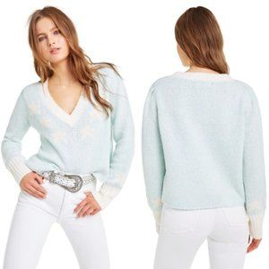 NWT Wildfox Star Girl Ace Knit Sweater